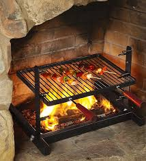 fireplace grills by grill kitchen wants