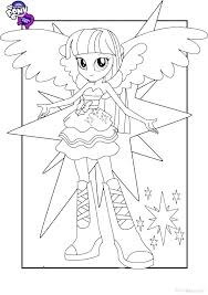 My Little Pony Equestria Girls Coloring Sheets My Little Pony Girls