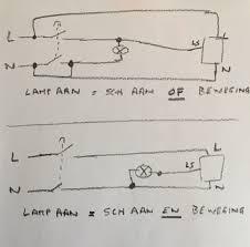 Bewegingssensor Aansluiten Met 2 Polige Schakelaar Bouwinfo