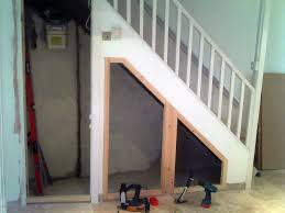 Marvelous Storage Under Stairs In Garage Images Decoration Ideas