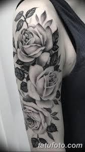 фото тату белые цветы18062019 102 Tattoo White Flowers