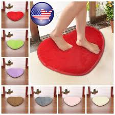 heart shaped gy fluffy rugs anti skid area rug carpet home bedroom floor mat