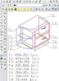 Furniture designing software