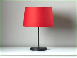 lamp black and red table lamps bedside lamp shades a small with shade
