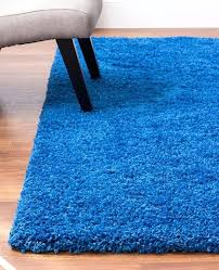 blue plush rug cozy and thick blue rug