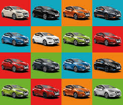 Nissan Reveals Changing Face Of Micra Colours Nissan Insider