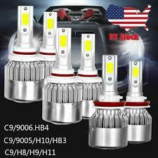 Car & Truck LED Light Bulbs Fog Light <b>Combo H11 9005 9006</b> LED ...