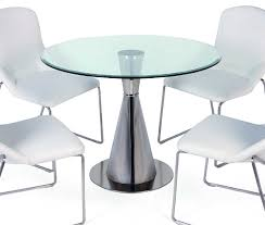 Modern Round Dining Room Tables Dining Room Cheerful Dining Room Decoration With Round Glass