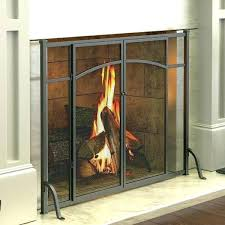 fireplace screens with doors awesome park flat panel screen sears canada fla