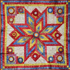 ShowThrow Heirloom Ribbon Quilts by Lani B. Ohly & ribbon quilt ... Adamdwight.com