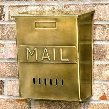 locking residential mailboxes. Residential Mailboxes Wall Mount Best Security Mailbox Vertical Mail  Brass Antique And Slots . Locking