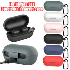 Silicone Case for <b>Haylou GT1</b> GT1 <b>Plus</b> TWS Bluetooth Earphones ...