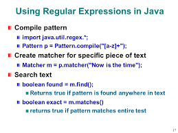 Java Pattern Compile Mesmerizing 48 Overview Regular Expressions Notation Patterns Java Support Ppt