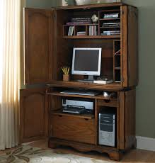 Image of: Corner Desk Hutch Ideas