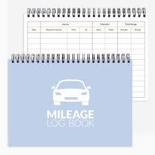 Mileage Book Mileage Log Book