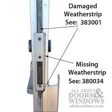 commercial door weather stripping. commercial door astragal 84 weather stripping