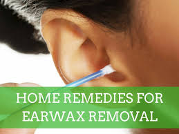 home remes for earwax removal