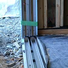 sliding door threshold sliding glass door threshold detail sliding door home building in sliding door threshold sliding door threshold