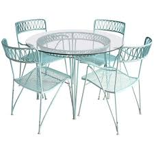 salterini wrought iron furniture. wrought iron dining set by maurizio tempestini for salterini furniture r