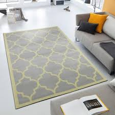 berrnour home contemporary moroccan trellis gray 5 ft x 7 ft area rug