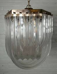 lucite chandelier interesting