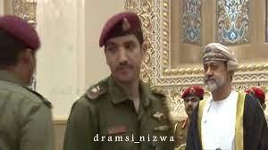 جلالة السلطان هيثم بن طارق يتلقّى التعازي من عدد من القادة و الافراد  العسكريين - YouTube