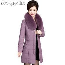 brand fur collar leather jacket winter women plus size 6xl thick warm autumn women outwear waterproof