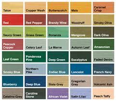 Sadolin Classic Colour Chart Sadolin Extra Durable Woodstain Sadolin