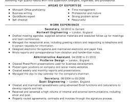 Writing A Job Resume Examples Of A Resume For A Job Covering