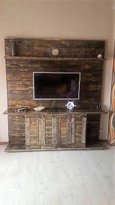 the whole design of the wood pallet unique entertainment center tv stand is projected with such sort crafting where cabinet or cupboard impression n67