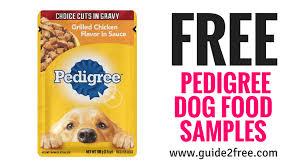 Free Pedigree Dog Food Samples Free Cat Food Best Dog