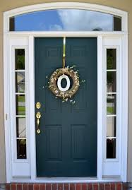 Elegant Front Door Wreaths With Letters 86 About Remodel with Front Door Wreaths With Letters