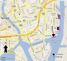 tampa cruise port map