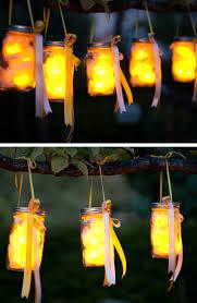 diy party lighting. Mason Jar Party Lanterns | 20 DIY Garden Lighting Ideas That Will Make Your Outdoor Space Diy P
