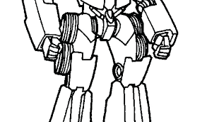 Transformer Printables Bumblebee Transformer Coloring Pages