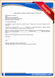Sample Medical Authorization Letters