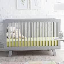 bedroom nice gray babyletto grayson mini crib with wheel for best