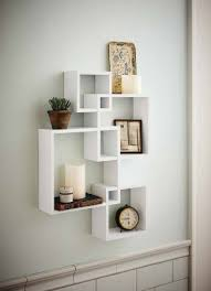 generic intersecting squares wall shelf