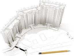 architecture building drawing. 3d Buildings And Floor Plans 6 Architecture Building Drawing A