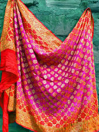 Bandhej Dupatta Designs Bandhani Dupattas Beautiful Indian Designer Wear