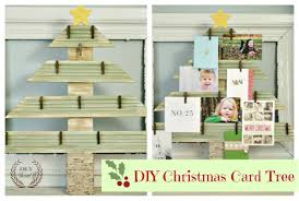 Christmas Card Display Stand DIY Christmas Card DisplayHolderDIY Show Off ™ DIY Decorating 44