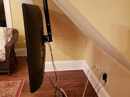 to hide power cords hanging