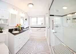 traditional white bathroom designs. Classic Black \u0026 White Bathroom Remodel Traditional Designs M