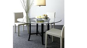 dining table design with glass top best of round glass dining table images home design throughout dining table design with glass top