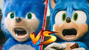 Original Sonic Design Sonic The Hedgehog Old Vs New Comparison