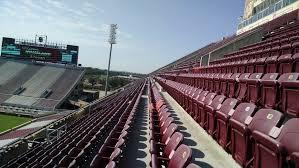 Chairback Seating At Oklahoma Memorial Stadium