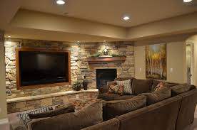 Artistic Basement Living Room Colors And Finished X - Finish basement ideas