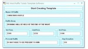Draw Ticket Template Draw Tickets Template Free Pielargenta Co