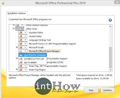 install microsoft picture manager office 2016 run