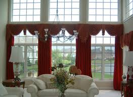 Living Room Window Curtains Remarkable Bay Windows Curtains For Living Room Decoration With